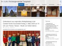 kirche-tangstedt.de Webseite Vorschau