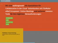 walkingtoweb.com Webseite Vorschau