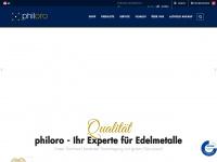 philoro.at Webseite Vorschau