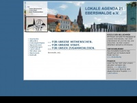 lokale-agenda-21-eberswalde.de Webseite Vorschau