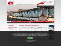 kvs-busreisen.de Webseite Vorschau