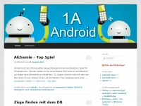 1a-android.de Webseite Vorschau