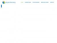 physio-harmony.de Webseite Vorschau
