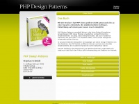phpdesignpatterns.de Webseite Vorschau