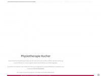physiotherapie-kucher.de Webseite Vorschau