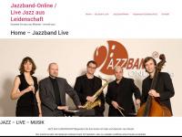 jazzband-online.de Webseite Vorschau