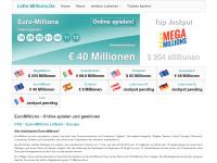 lotto-millions.de Webseite Vorschau