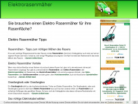 elektro-rasenmaeher.com