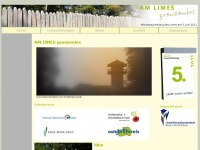am-limes-grenzenlos.de Webseite Vorschau