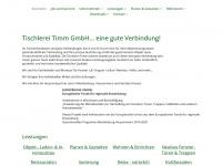 tischlerei-timm.com