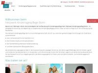 kinderbetreuung-in-familien.de Webseite Vorschau