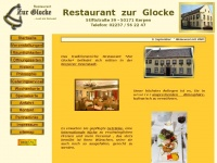 zur-glocke-kerpen.de Webseite Vorschau