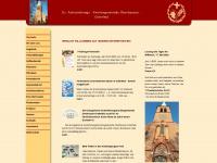 kirche-osterfeld.de Webseite Vorschau