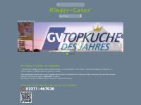 kinder-cater.com Webseite Vorschau