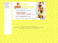 kigeb.de Webseite Vorschau