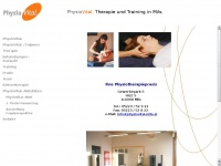physiovital-mils.at Webseite Vorschau