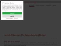 cdu-morbach.de Webseite Vorschau