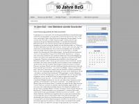 10jahrebzg.wordpress.com Webseite Vorschau