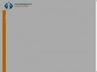 physiowerkstatt.com Webseite Vorschau