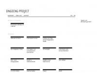 Ongoing-project.org