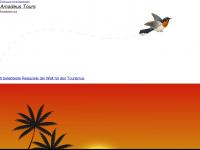 amadeus-tours.ch Webseite Vorschau