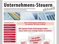 unternehmenssteuern.de Thumbnail