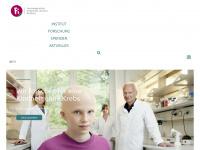 kinderkrebs-forschung.de Webseite Vorschau