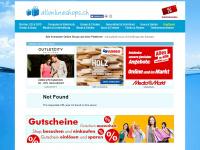 allonlineshops.ch Webseite Vorschau