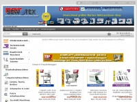 sewtex.de Webseite Vorschau