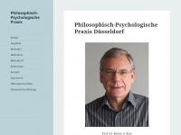 philosophische-praxis-duesseldorf.de Webseite Vorschau
