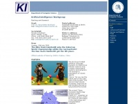 ki.informatik.hu-berlin.de Webseite Vorschau