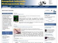 kirchengemeinde-oker.de Webseite Vorschau