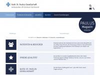 ambulanzzentrum-dortmund.de Webseite Vorschau