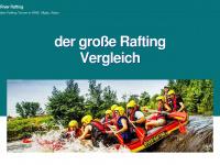 river-rafting.de Webseite Vorschau