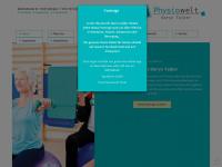 physiowelt-daryntalker.com Webseite Vorschau
