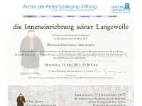 archiv-suhrkamp-stiftung.de