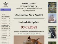 long-expeditions.de Webseite Vorschau