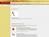 online-praxis.com Webseite Vorschau
