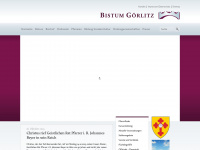 bistum-goerlitz.de Webseite Vorschau
