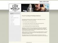 loyworld-records.de Webseite Vorschau