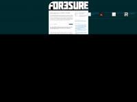 foresure.de Webseite Vorschau