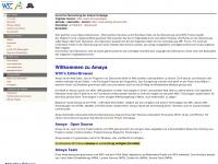 amaya-browser.de Webseite Vorschau