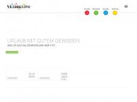 salzburgerland.com Webseite Vorschau