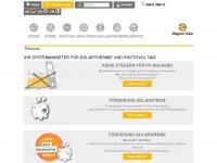 wagner-solar.com Webseite Vorschau