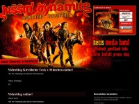 kissin-dynamite.de Webseite Vorschau