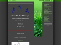 physiotherapie-pasing.de Webseite Vorschau