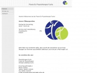 physiotherapie-lenting.de Webseite Vorschau