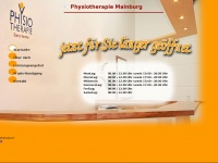 physiotherapie-mainburg.de Webseite Vorschau
