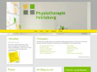 physio-petrisberg.de Webseite Vorschau