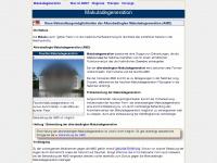 amd-fruehdiagnose.de Webseite Vorschau